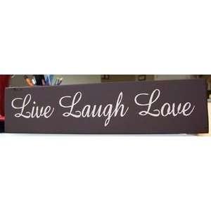 Wall Decor Live Laugh Love 3