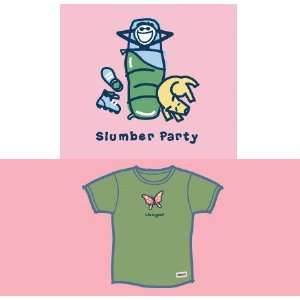 LIFE IS GOOD SLUMBER PARTY S/S CRUSHER TEE   GIRLS  Sports