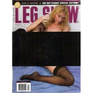 LEG SHOW MAGAZINE FEBRUARY 2010: LEG SHOW: Books