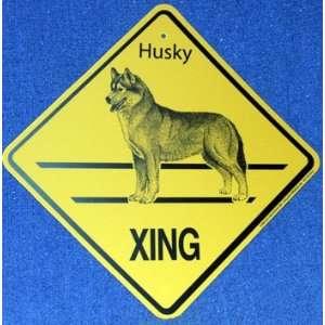 Siberian Husky   Xing Sign