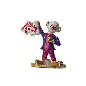 Spoontiques Pewter Painted Lawyer Clown: Everything Else