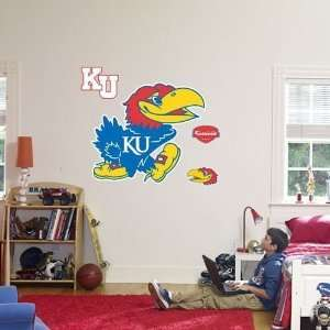 Kansas Logo Fathead Wall Decal