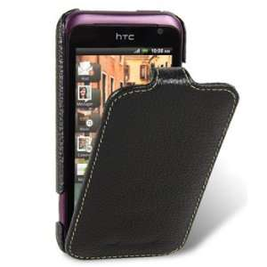 Premium Genuine Cowhide Leather Case Jacka Type Black Electronics