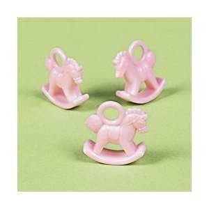 Pink Rocking Horse Favors (12 dozen)   Bulk: Toys & Games