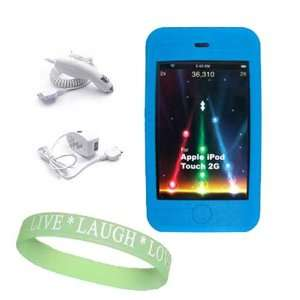 Charger + Car Charger + Live*Laugh*Love Wrist Band  Players
