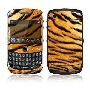BlackBerry Curve 3G Decal Skin Sticker   Tiger Skin