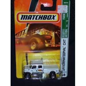 of 6 #68 International CXT Heavy Duty Truck White: Toys & Games