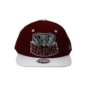 Zephyr Refresh University Of Alabama Crimson Tide Snapback Hat