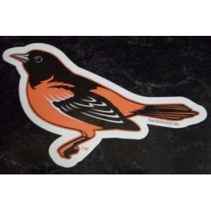 Baltimore Orioles Oriole Bird Logo MLB Car Magnet Sports