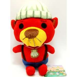 Animal Crossing Stuffed Plush Doll Rakusuke   7 Toys