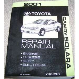 2001 Toyota Camry Solara Repair Manual (Volume 2) Toyota