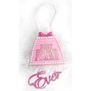 Best Friend Ever Diva Purse Christmas Ornament #W20062