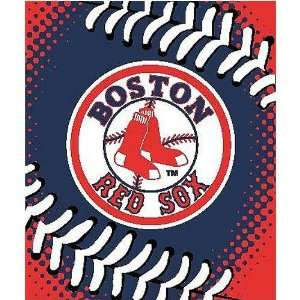 Red Sox 60x80 Big Stitching Super Plush Throw