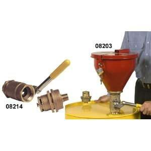 JUSTRITE Tip Over Protection System for Drum Funnel