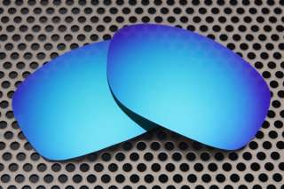 New VL Polarized Ice Blue Replacement Lenses for Oakley Ten Sunglasses