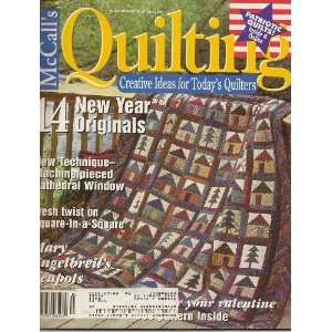 McCalls Quilting Magazine, February 2002 (Volume 9