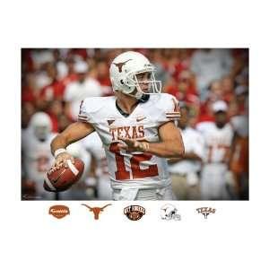 NCAA Texas Longhorns Colt McCoy Mural Wall Graphic  Sports
