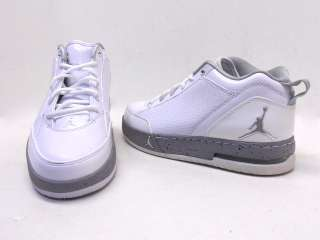 Nike Mens Air Jordan SS Skate Dunk Retro White Gray Size 8.5 NWD