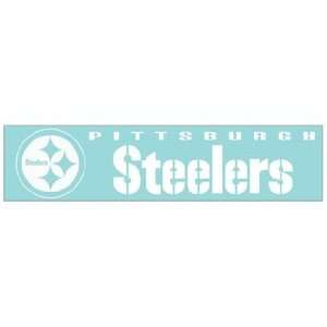 NFL Pittsburgh Steelers Die Cut Decal 4x16 Sports