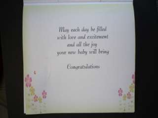 NEW BABY / PREGNANCY CONGRATULATIONS CARD 3D / handmade