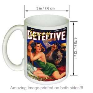 Strictly Private Spicy Detective Pulp Art COFFEE MUG Kitchen & Dining
