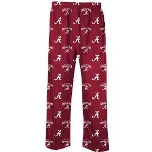 Alabama Crimson Tide Mens Supreme Crimson Pajama Pants