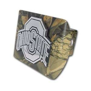 Ohio State University Buckeyes Camo Trailer Hitch Cover