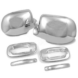 Weatherproof High Quality Chrome Side Mirror Cover Door handle Cover