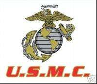 USMC MARINE CORPS EAGLE AND GLOBE WINDOW CAR DECAL