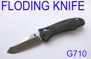 Ganzo G710 Folding Knife high Quality Steel outdoor sport metal 440C