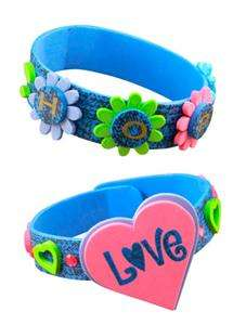 LOVE BRACELETS Kits Scout  Makes 12 Guide Craft Project Group