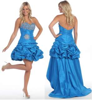 LONG n SHORT REMOVABLE TAIL HOMECOMING DRESSES SWEET 16