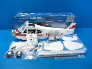 flite Super Cub 25e ARF Electric R/C RC Airplane Kit PARTS EFL4625