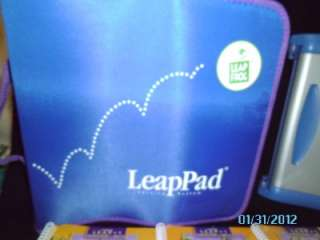 LEAP FROG LEAP PAD PLUS WRITING LEARNING SYSTEM BUNDLE PACK