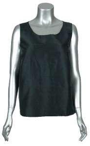 Sutton Studio Womens Blue/Black 3 Piece Reversible Silk Dupioni Outfit