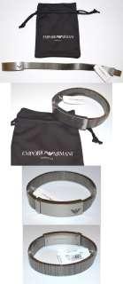 New $175 Emporio Armani Stainless Steel Eagle Mens Bracelet