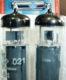 Telefunken EL84 pair NOS tubes good values 6BQ5