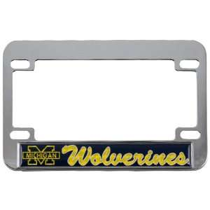Hologram Chrome Motorcycle License Plate Frame