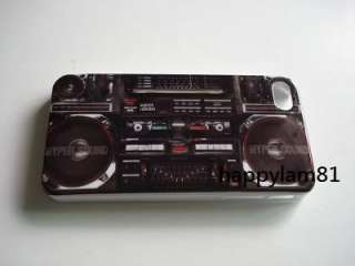 Cassette Player Full Print Hard Case Cover For iPhone 4G 4S