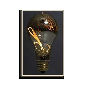 FerroWatt 15W E26 120V Carbon Filament Lamp   BallOFire