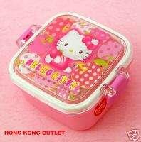 Sanrio Hello Kitty Bento Snack Box Container Case G7b
