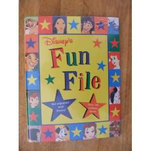 Disneys Fun File (9780590692175) none noted Books