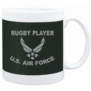 Mug Dark Green  Rugby Player   U.S. AIR FORCE  Sports