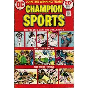 Champion Sports #1 First Issue Comic Book