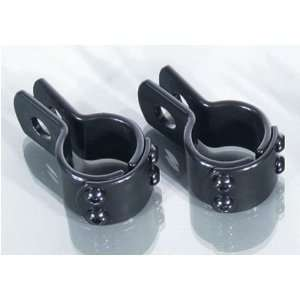Engine Guard Clamps 1in Black
