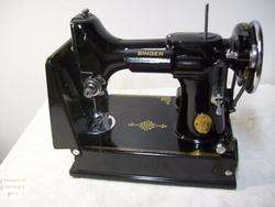 1935 Singer Featherweight Sewing Machine 221 1 Portable Electric