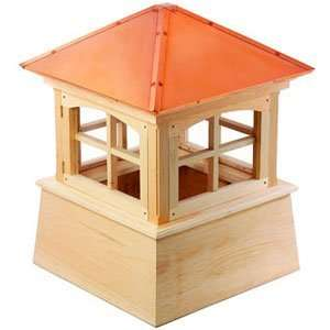 Cupola w/ Copper Rooftop  54 ft sq. 76 ft High Patio, Lawn & Garden
