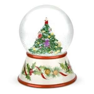 Spode Christmas Tree 2010 Musical Snow Globe  Kitchen