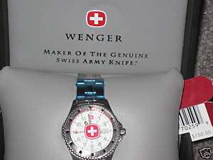 Wenger Genuine Collection Ladys Swiss Army Watch NIB
