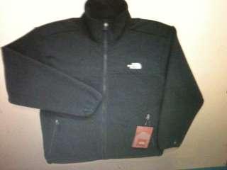 THE NORTH FACE mono fleece basin black jacket black mens xxl / 2xl